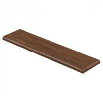 Alameda Hickory 94 in. Long x 12-1/8 in. Deep x 1-11/16 in. Height Laminate Right Return to Cover Stairs 1 in. Thick