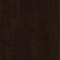 Hand Scraped Distressed Strand Woven Russet 3/8 in. x 5-1/8 in. x 36 in. Click Lock Bamboo Flooring (25.625 sq.ft./case)