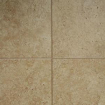 Tumbled Travertine 8 mm Thick x 11-3/5 in. Wide x 46-3/10 in. Length Click Lock Laminate Flooring (18.56 sq. ft. / case)