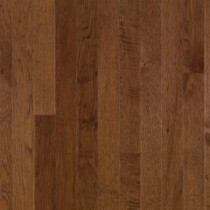 Plymouth Brown Hickory 3/4 in. Thick x 2-1/4 in. Wide x Random Length Solid Hardwood Flooring (20 sq. ft. / case)