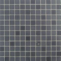 Self Adhesive Gray 12 in. x 12 in. x 5 mm Glass Mosaic Tile