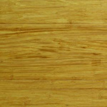 Strand Woven Natural Bamboo 1/2 in. Thick x 5-1/8 in. Wide x 72 in. Length Solid Bamboo Flooring (23.29 sq. ft. / case)