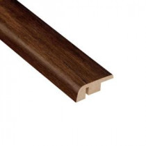 High Gloss Distressed Maple Ashburn 7/16 in. Thick x 1-5/16 in. Wide x 94 in. Length Laminate Carpet Reducer Molding