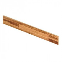 Sugar House Maple 47 in. Long x 1/2 in. Deep x 7-3/8 in. Height Laminate Riser to be Used with Cap A Tread