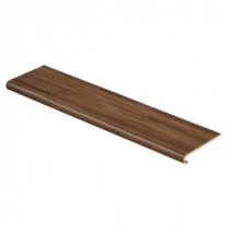 Maple Grove Natural 94 in. Length x 12-1/8 in. Deep x 1-11/16 in. Height Laminate to Cover Stairs 1 in. Thick