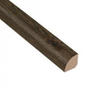 Wire Brushed Hickory Coffee 3/4 in. Thick x 3/4 in. Wide x 94 in. Length Hardwood Quarter Round Molding