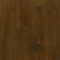 American Vintage Mocha Oak Engineered Scraped Hardwood Flooring - 5 in. x 7 in. Take Home Sample